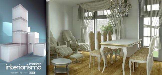 M ster online de interiorismo 3d para dise adores for Curso interiorismo gratis