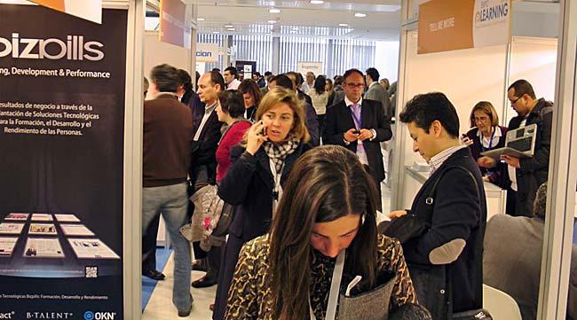 Inauguración de Expolearning, la feria de la formación online