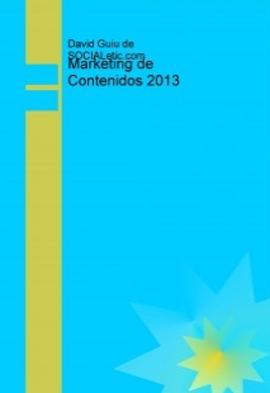 Libro gratis de marketing de contenidos 2013