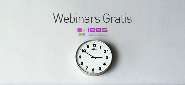 Webinars gratis de IEBS