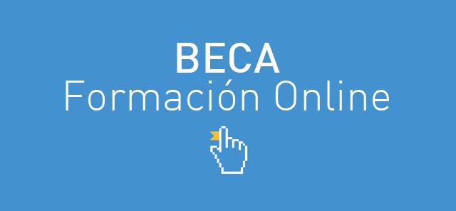 Beca Formación Online. Regalamos 100€!!